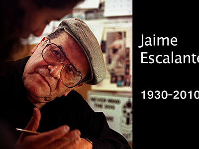 Stand and Deliver – THE HISPANIC BLOG Jaime Escalante Quotes