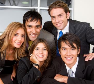 of Spanish-speaking origin Group Of Hispanic People
